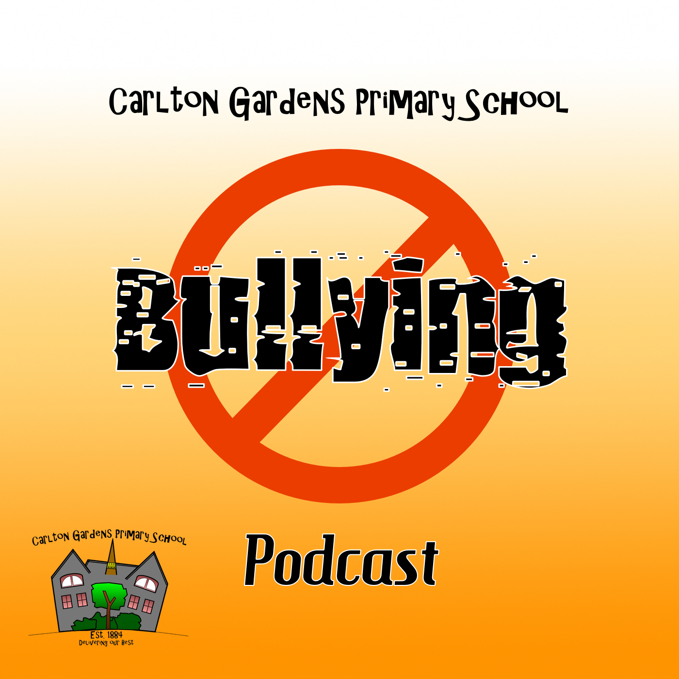 CGPS Bullying Podcast Logo